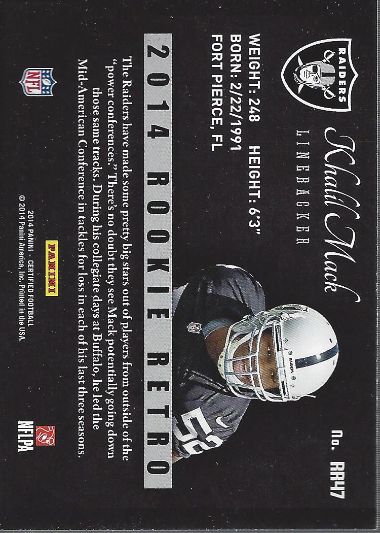 2014-Certified-Rookie-Retro-Football-Card-Pick thumbnail 55