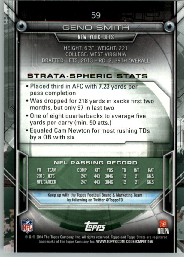 2014-Topps-Strata-Retail-Football-Card-Pick thumbnail 81