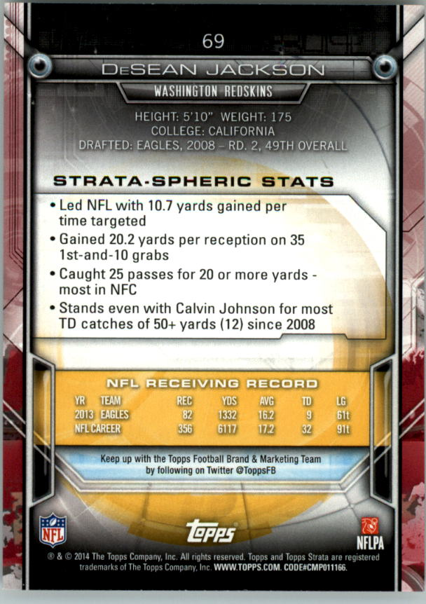 2014-Topps-Strata-Retail-Football-Card-Pick thumbnail 95