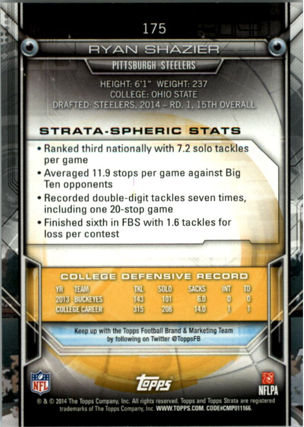 2014-Topps-Strata-Retail-Football-Card-Pick thumbnail 243