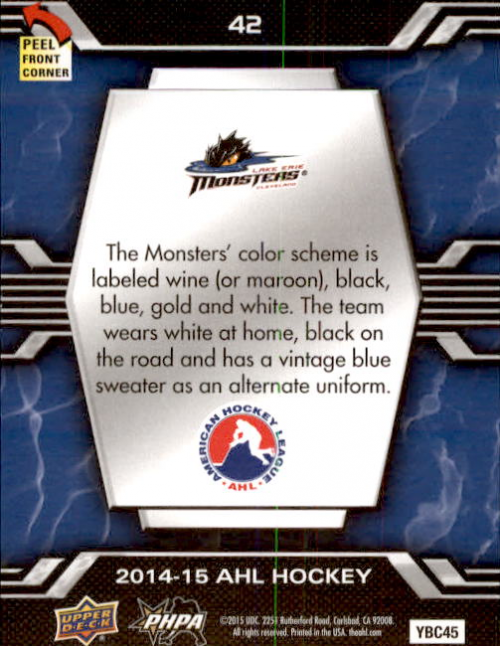 2014-15-Upper-Deck-AHL-Hk-039-s-Logo-Stickers-You-Pick-Buy-10-cards-FREE-SHIP thumbnail 83