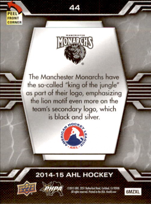 2014-15-Upper-Deck-AHL-Hk-039-s-Logo-Stickers-You-Pick-Buy-10-cards-FREE-SHIP thumbnail 87