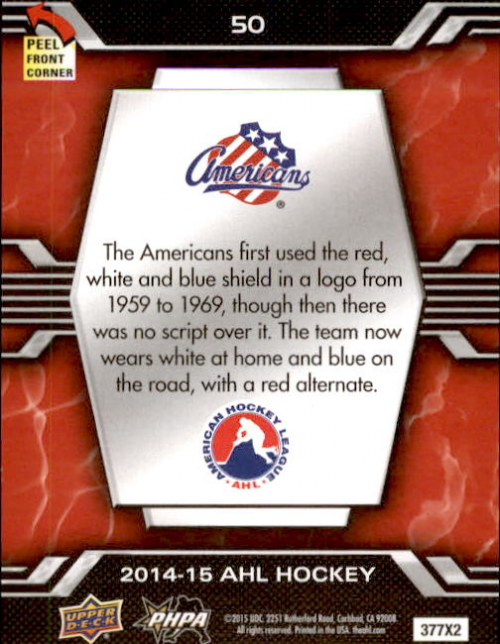 2014-15-Upper-Deck-AHL-Hk-039-s-Logo-Stickers-You-Pick-Buy-10-cards-FREE-SHIP thumbnail 99