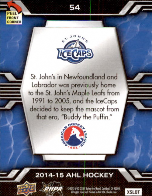 2014-15-Upper-Deck-AHL-Hk-039-s-Logo-Stickers-You-Pick-Buy-10-cards-FREE-SHIP thumbnail 107