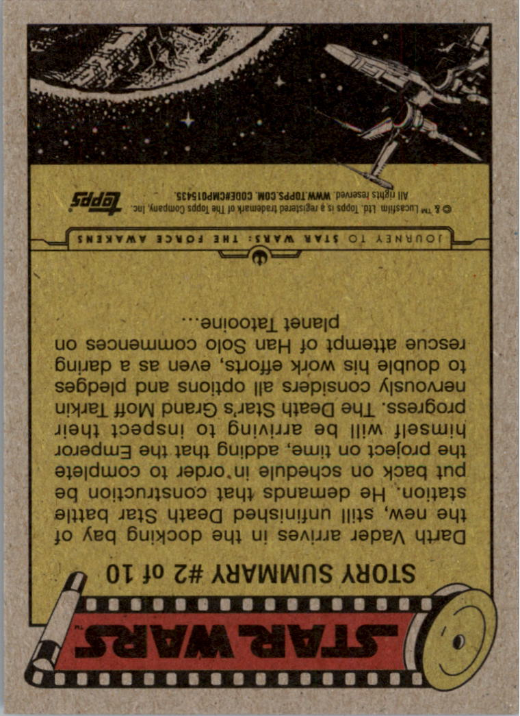 2015-Star-Wars-Journey-to-The-Force-Awakens-Black-Trading-Card-Pick miniature 125