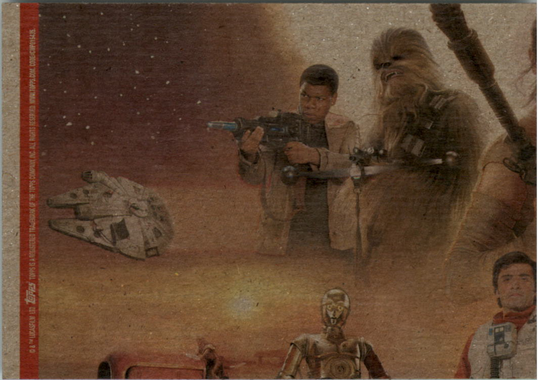 2015-Star-Wars-Journey-to-The-Force-Awakens-Black-Trading-Card-Pick miniature 165