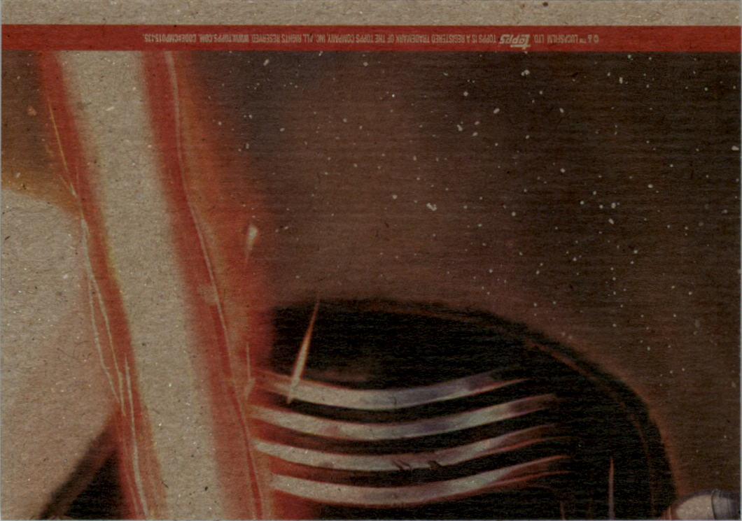 2015-Star-Wars-Journey-to-The-Force-Awakens-Black-Trading-Card-Pick miniature 169