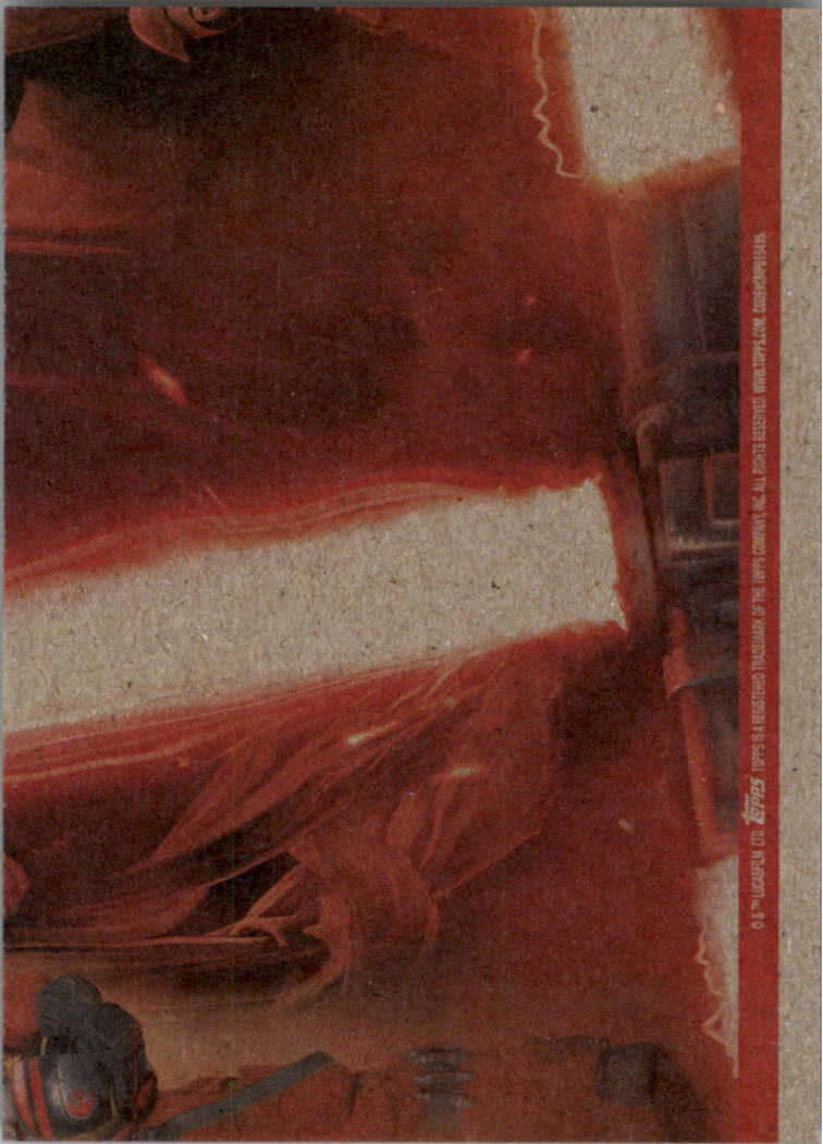 2015-Star-Wars-Journey-to-The-Force-Awakens-Black-Trading-Card-Pick miniature 173