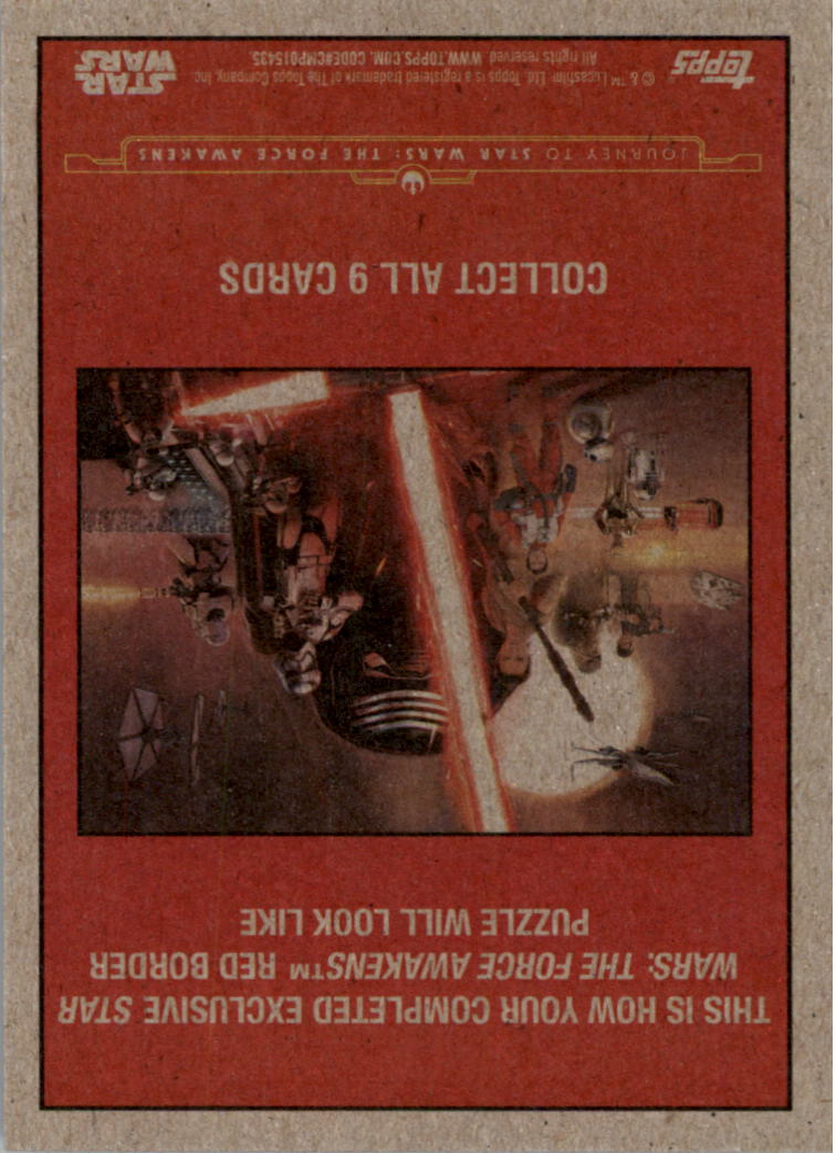 2015-Star-Wars-Journey-to-The-Force-Awakens-Black-Trading-Card-Pick miniature 181
