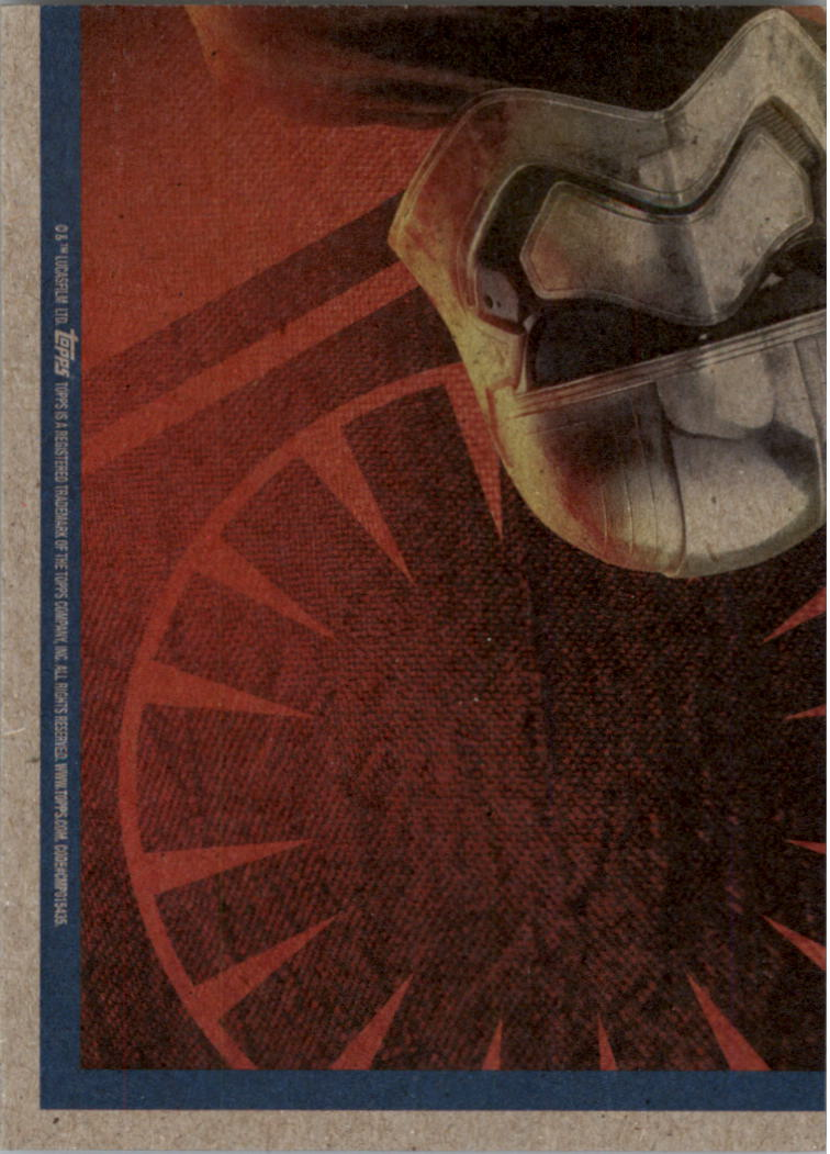 2015-Star-Wars-Journey-to-The-Force-Awakens-Black-Trading-Card-Pick miniature 183