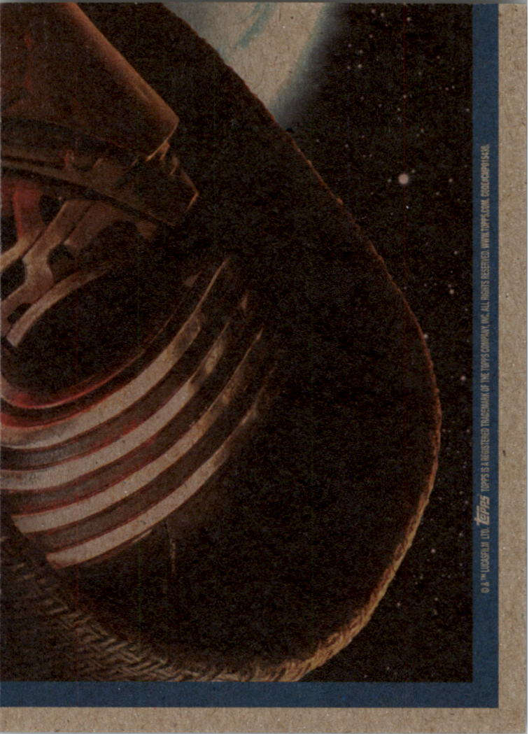2015-Star-Wars-Journey-to-The-Force-Awakens-Black-Trading-Card-Pick miniature 187