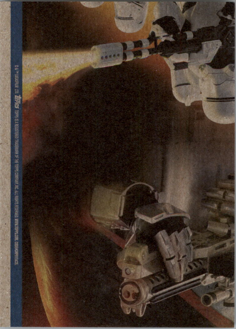 2015-Star-Wars-Journey-to-The-Force-Awakens-Black-Trading-Card-Pick miniature 189