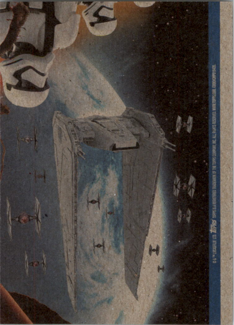 2015-Star-Wars-Journey-to-The-Force-Awakens-Black-Trading-Card-Pick miniature 193