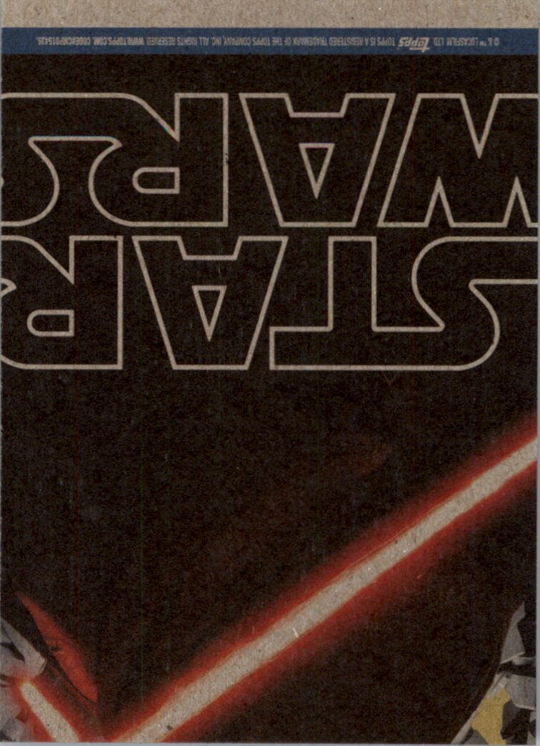 2015-Star-Wars-Journey-to-The-Force-Awakens-Black-Trading-Card-Pick miniature 197