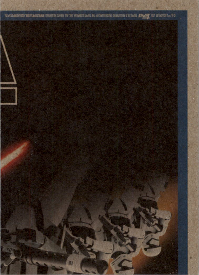 2015-Star-Wars-Journey-to-The-Force-Awakens-Black-Trading-Card-Pick miniature 199