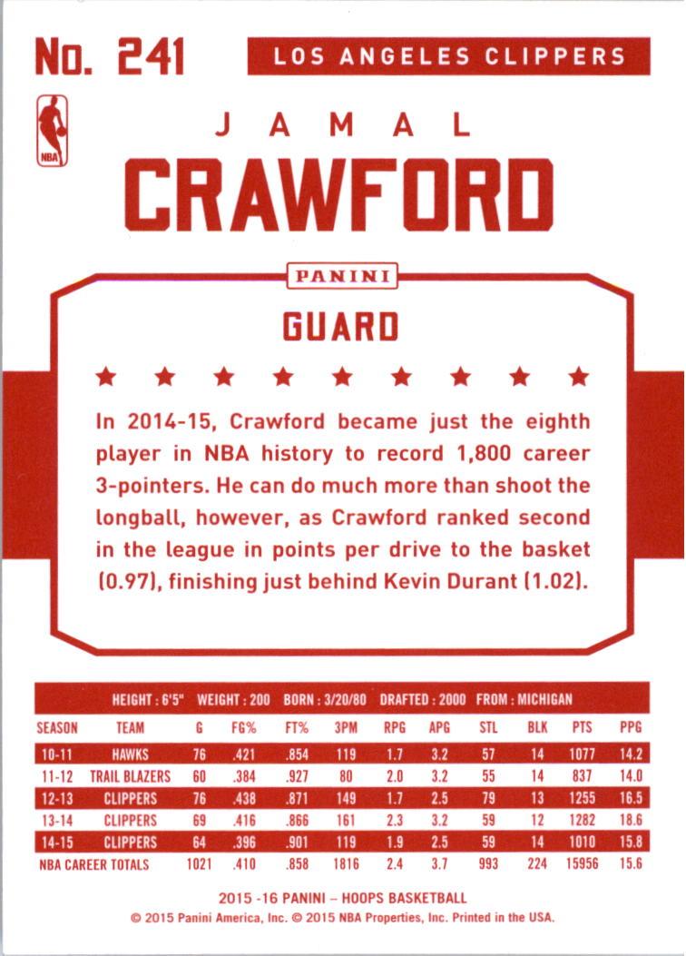 2015-16-Hoops-Red-Backs-Basketball-Card-Pick thumbnail 87