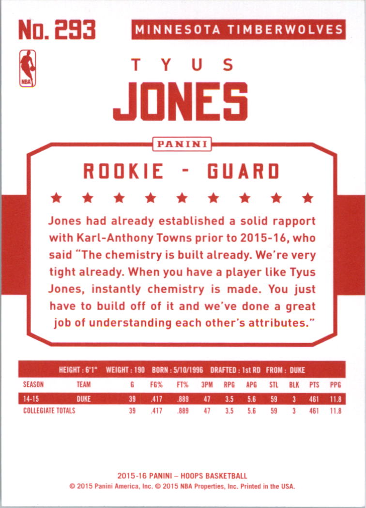 2015-16-Hoops-Red-Backs-Basketball-Card-Pick thumbnail 99