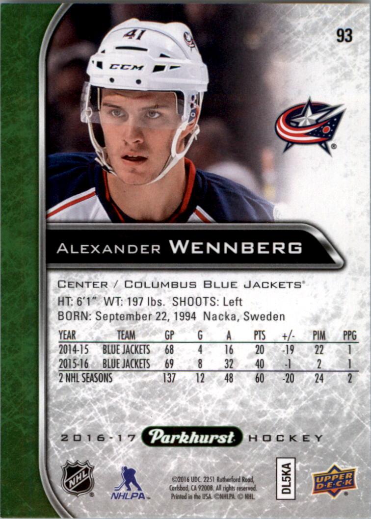 2016-17-Parkhurst-Hockey-Card-Pick thumbnail 105