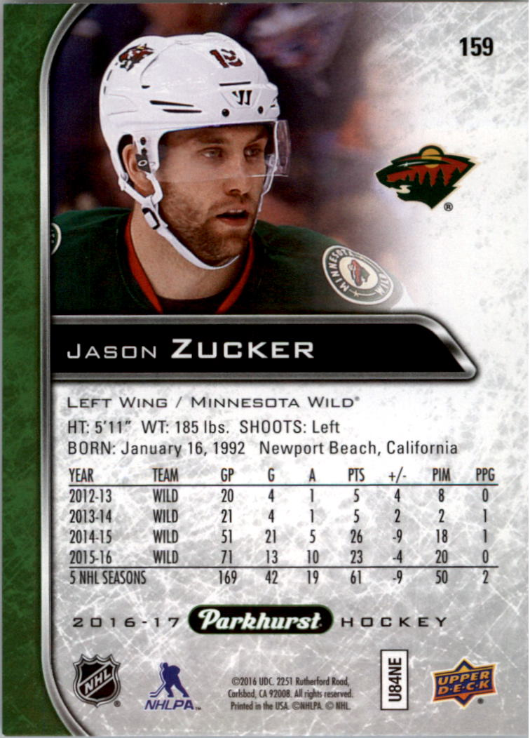 2016-17-Parkhurst-Hockey-Card-Pick thumbnail 157