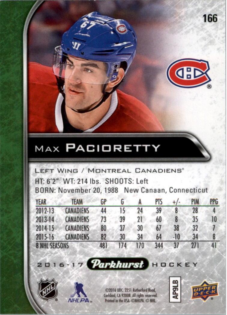 2016-17-Parkhurst-Hockey-Card-Pick thumbnail 161