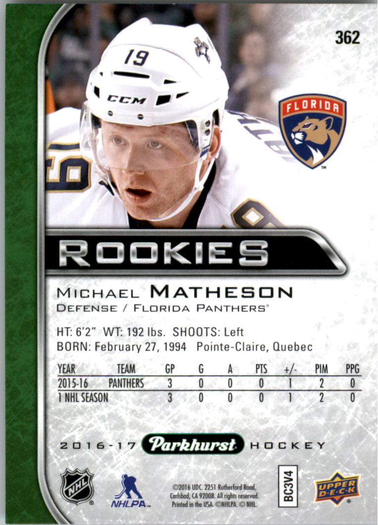 2016-17-Parkhurst-Hockey-Card-Pick thumbnail 363