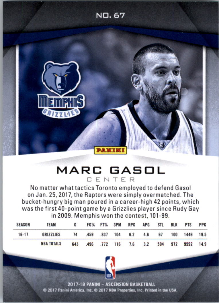 2017-18-Panini-Ascension-Basketball-Card-Pick thumbnail 133