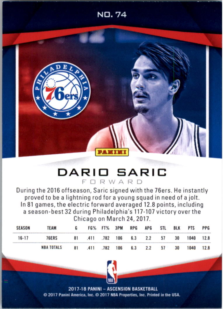2017-18-Panini-Ascension-Basketball-Card-Pick thumbnail 147
