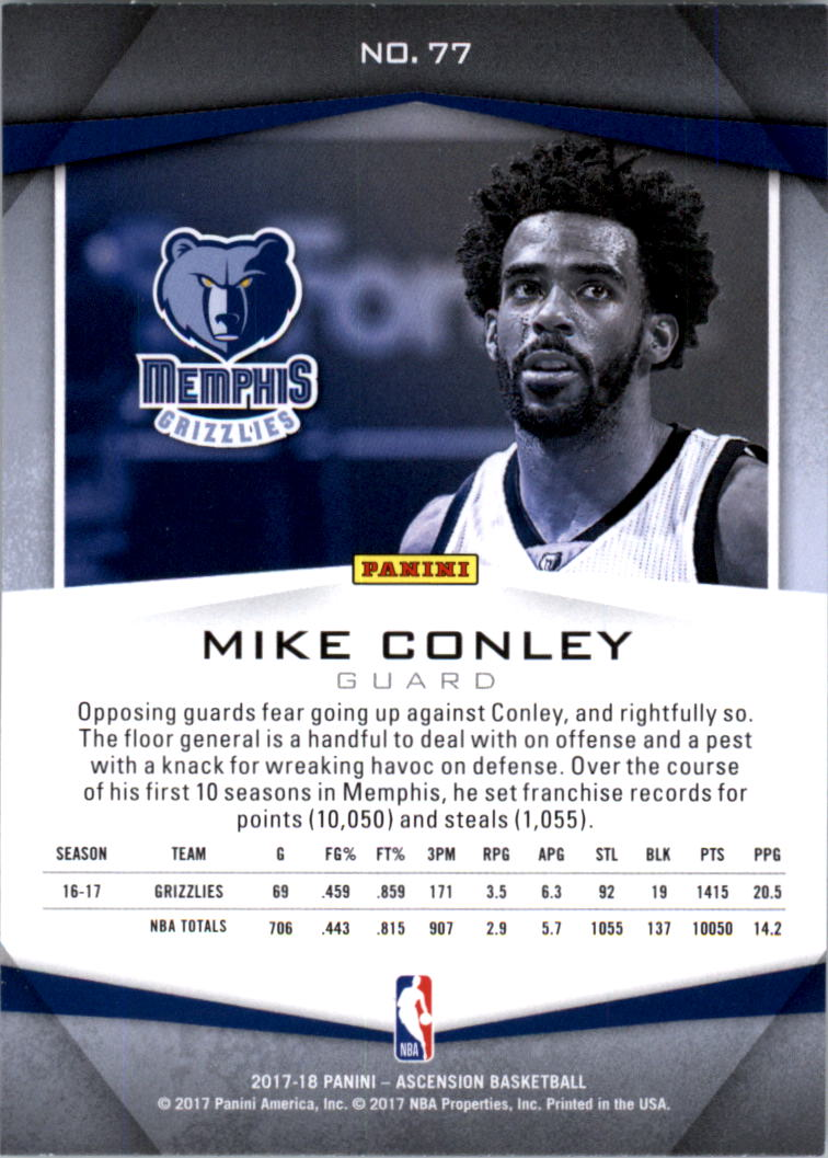 2017-18-Panini-Ascension-Basketball-Card-Pick thumbnail 153