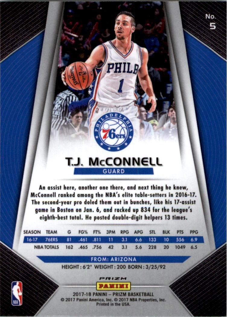 2017-18-Panini-Prizm-Prizms-Red-White-and-Blue-Basketball-Card-Pick thumbnail 3