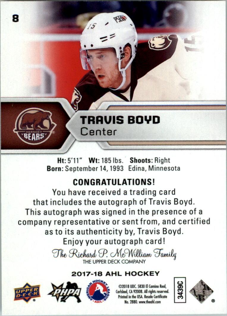 2017-18-Upper-Deck-AHL-Autographs-Hockey-Card-Pick thumbnail 3