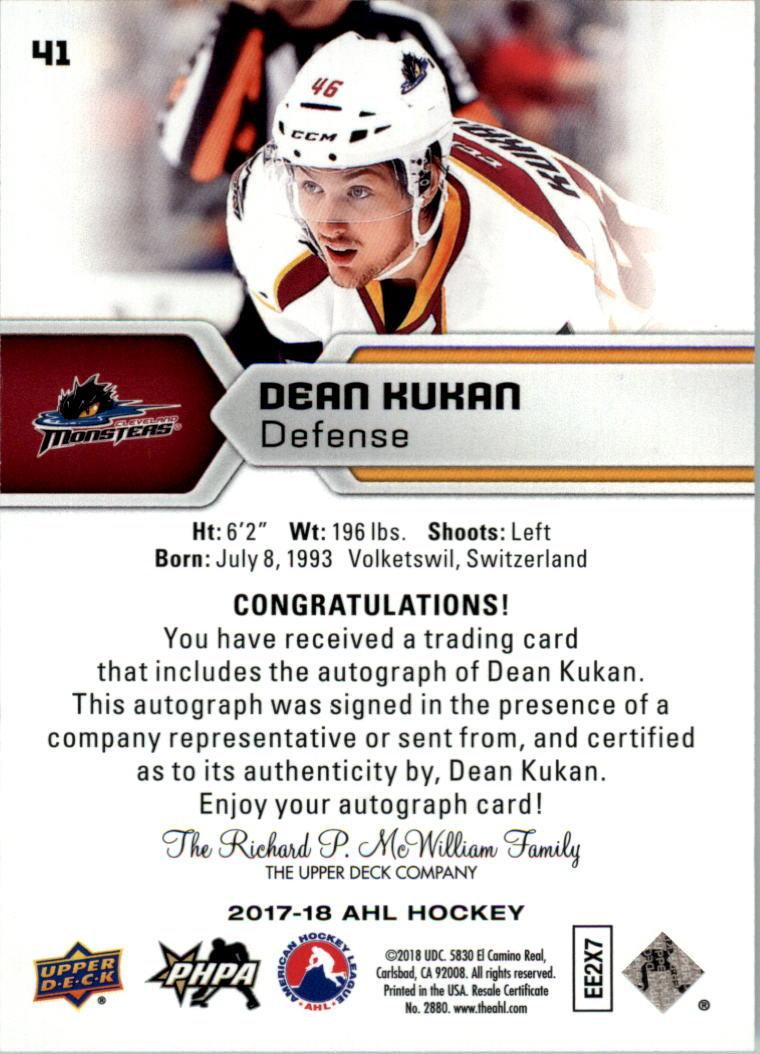 2017-18-Upper-Deck-AHL-Autographs-Hockey-Card-Pick thumbnail 9