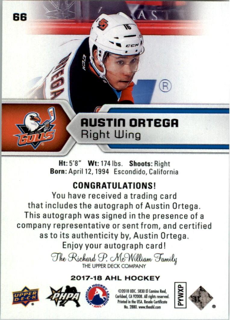 2017-18-Upper-Deck-AHL-Autographs-Hockey-Card-Pick thumbnail 15