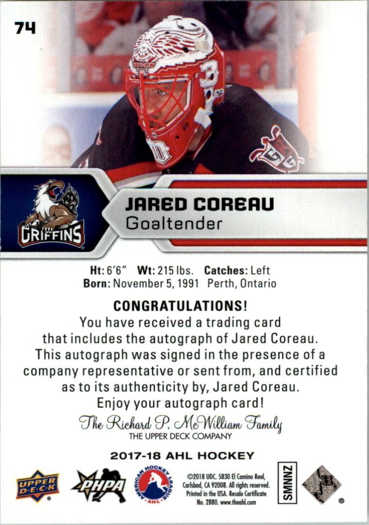 2017-18-Upper-Deck-AHL-Autographs-Hockey-Card-Pick thumbnail 19