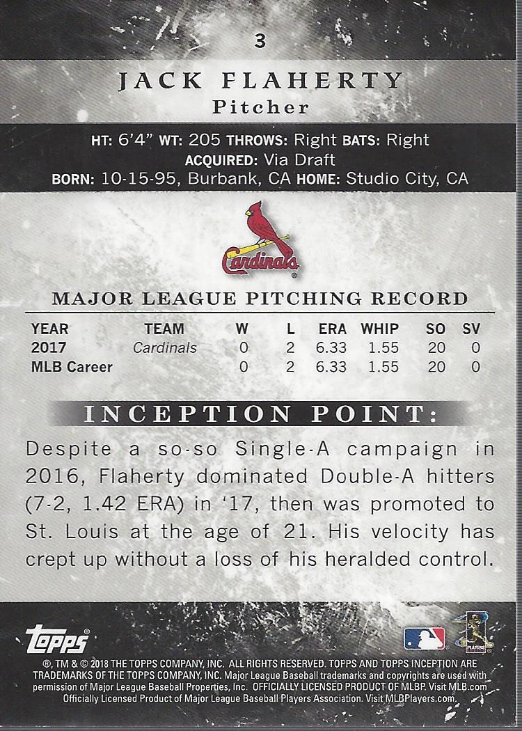 2018-Tarjeta-de-beisbol-Topps-Inception-Pick miniatura 7