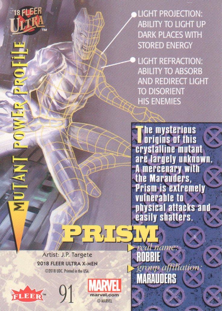2018-Fleer-Ultra-X-Men-Trading-Cards-Base-Set-Pick-From-List miniature 161