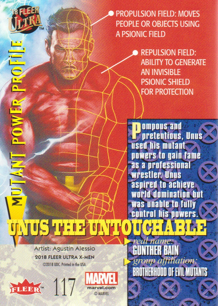 2018-Fleer-Ultra-X-Men-Trading-Cards-Base-Set-Pick-From-List miniature 193