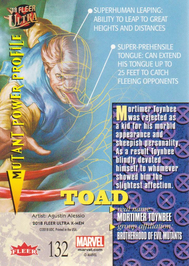 2018-Fleer-Ultra-X-Men-Trading-Cards-Base-Set-Pick-From-List miniature 213