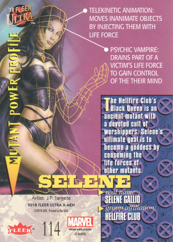2018-Fleer-Ultra-X-Men-Trading-Cards-Silver-Foil-Parallels-Pick-From-List miniature 81