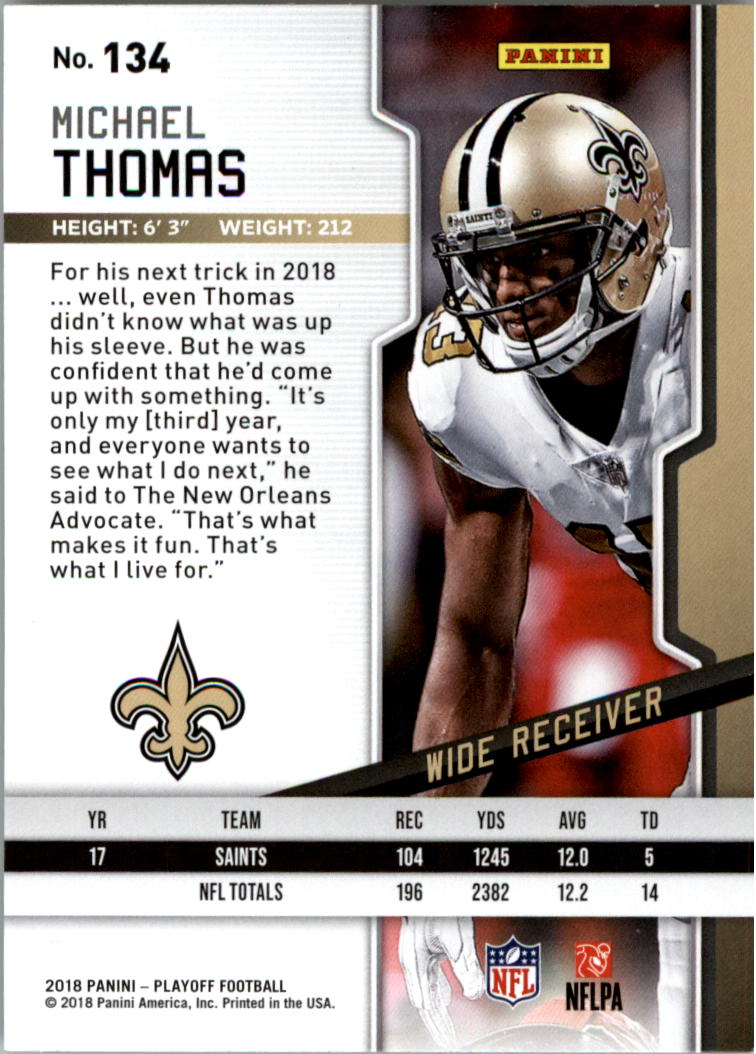 f16f8978 Details about 2018 Playoff Football Card PIck 101-300