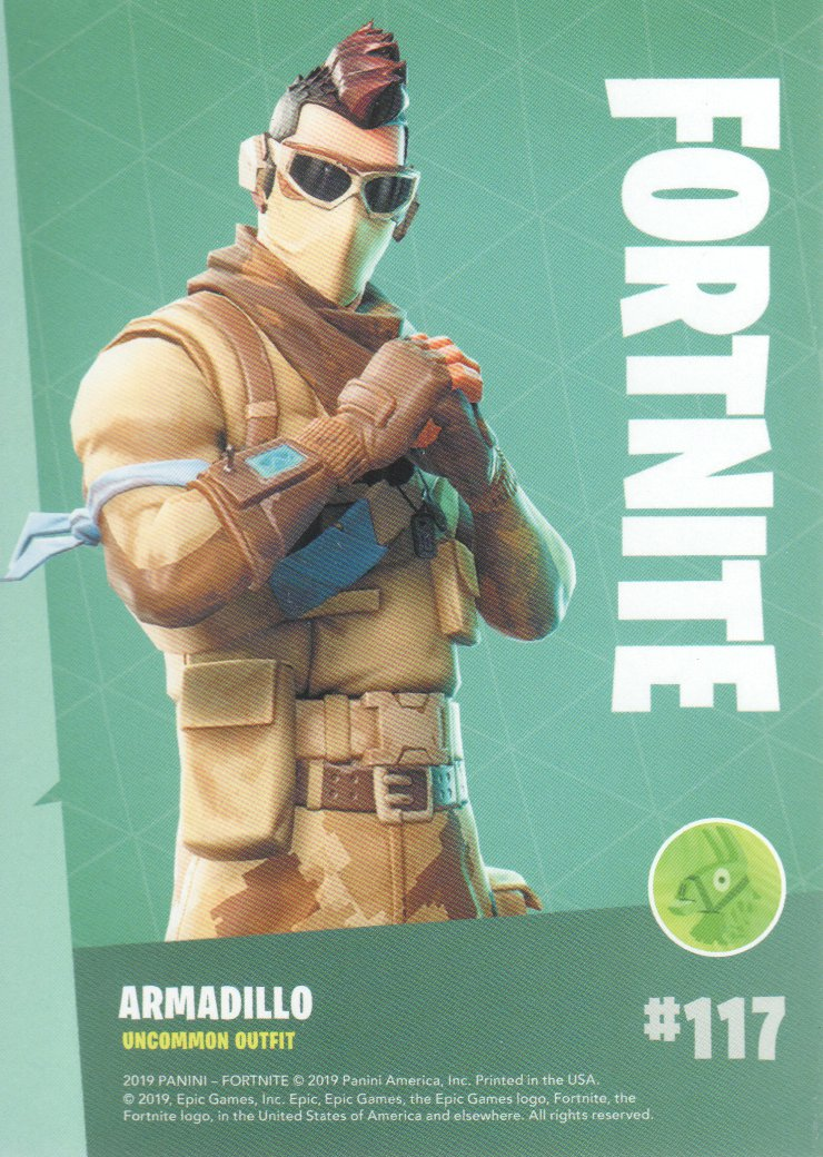 2019-Panini-Fortnite-Series-1-Trading-Cards-Base-Set-Uncommons-Pick-From-List miniature 35