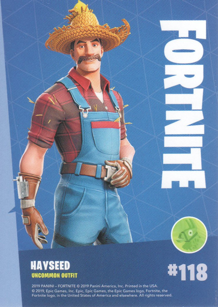 2019-Panini-Fortnite-Series-1-Trading-Cards-Base-Set-Uncommons-Pick-From-List miniature 37