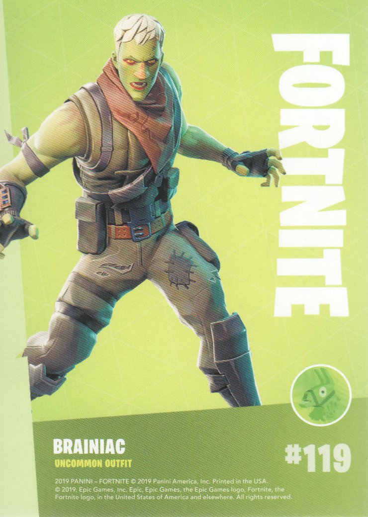 2019-Panini-Fortnite-Series-1-Trading-Cards-Base-Set-Uncommons-Pick-From-List miniature 39
