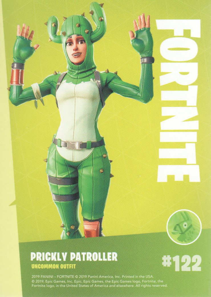 2019-Panini-Fortnite-Series-1-Trading-Cards-Base-Set-Uncommons-Pick-From-List miniature 45