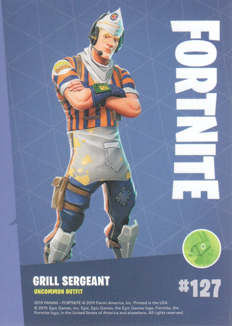 2019-Panini-Fortnite-Series-1-Trading-Cards-Base-Set-Uncommons-Pick-From-List miniature 55