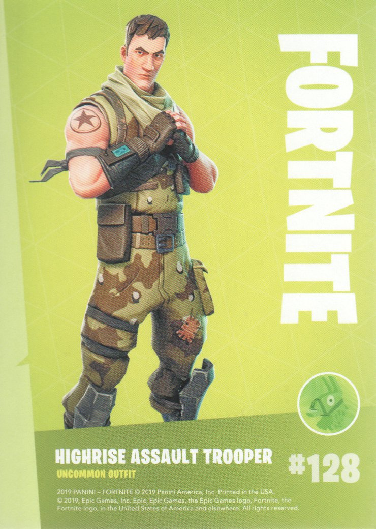 2019-Panini-Fortnite-Series-1-Trading-Cards-Base-Set-Uncommons-Pick-From-List miniature 57