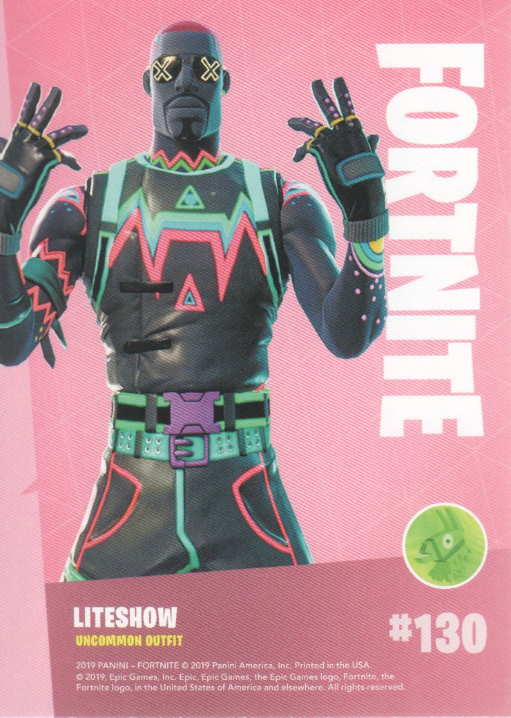 2019-Panini-Fortnite-Series-1-Trading-Cards-Base-Set-Uncommons-Pick-From-List miniature 61