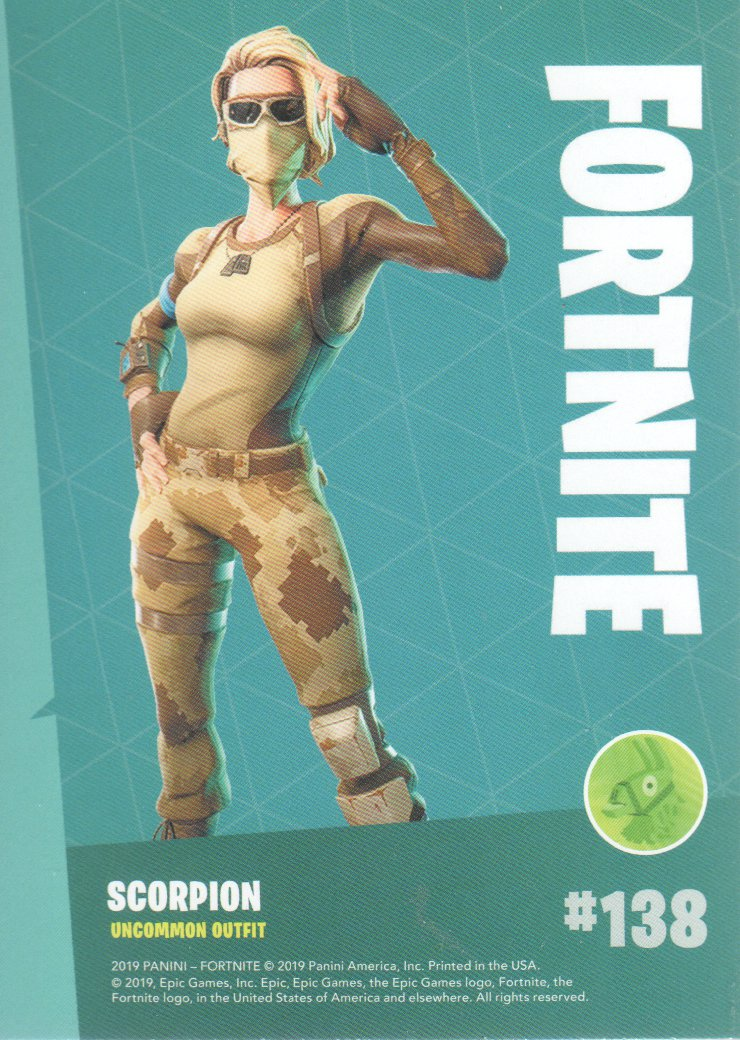 2019-Panini-Fortnite-Series-1-Trading-Cards-Base-Set-Uncommons-Pick-From-List miniature 77