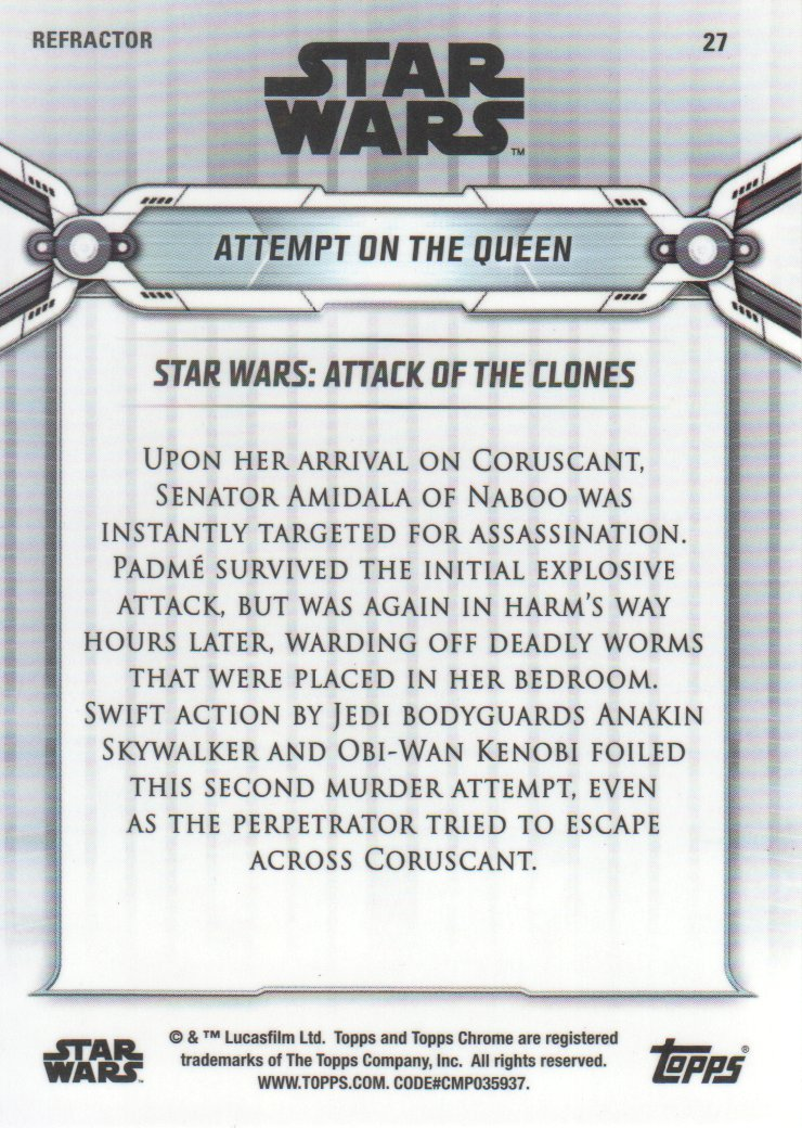 2019-Star-Wars-Chrome-Legacy-Parallels-Trading-Cards-Pick-From-List miniature 63
