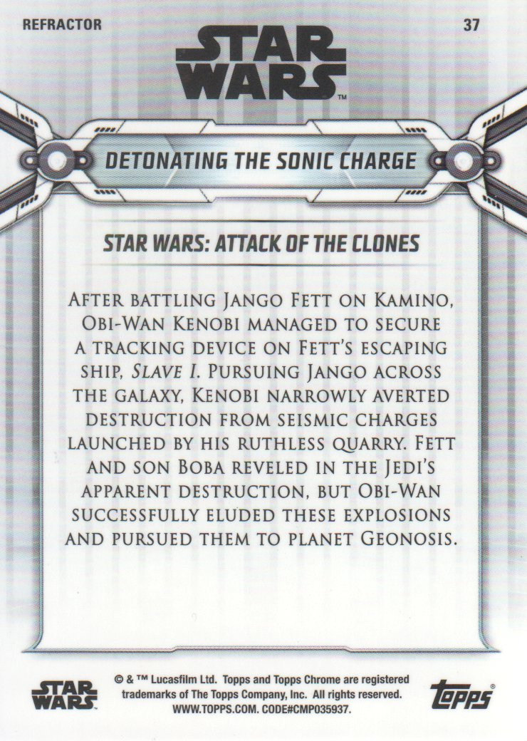 2019-Star-Wars-Chrome-Legacy-Parallels-Trading-Cards-Pick-From-List miniature 75