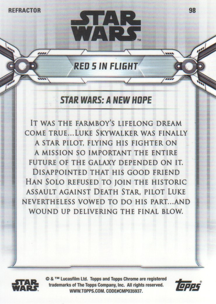 2019-Star-Wars-Chrome-Legacy-Parallels-Trading-Cards-Pick-From-List miniature 119